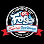 Dr Fog's Famous Ice Cream' logo