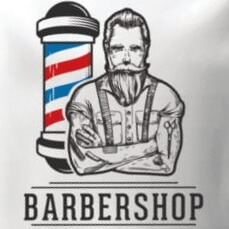 Barbershop Vape Co.' logo