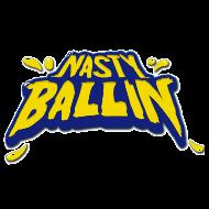 NASTY BALLIN ' logo