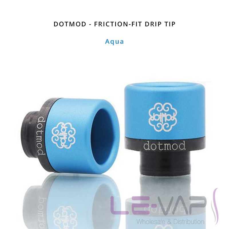 DOTMOD - Friction-Fit Drip Tip-Aqua