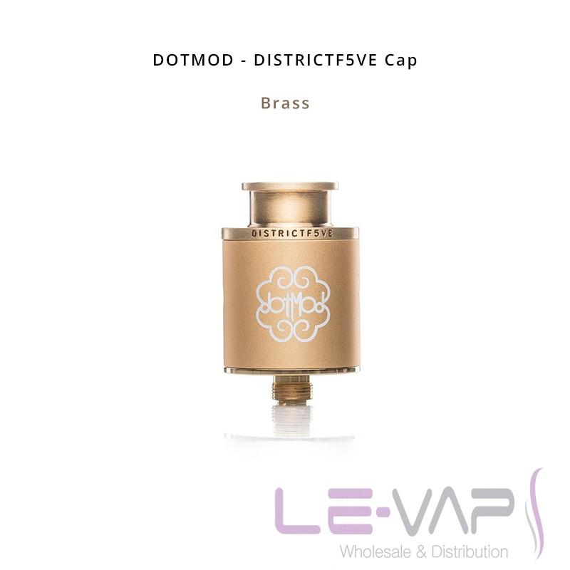 DISTRICTF5VE Cap-Brass