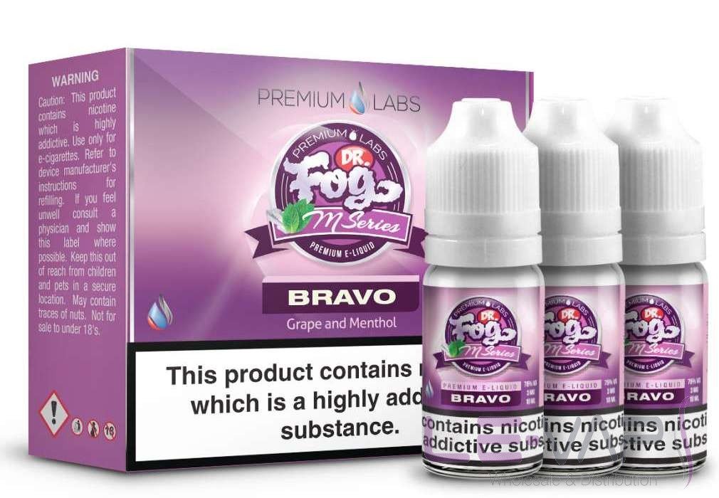 Dr. Fog's M-Series Bravo E-liquid 3x10ml