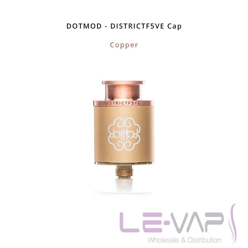 DISTRICTF5VE Cap-Copper