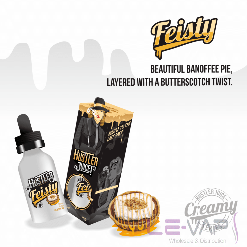 Feisty e-liquid by Hustler Juice