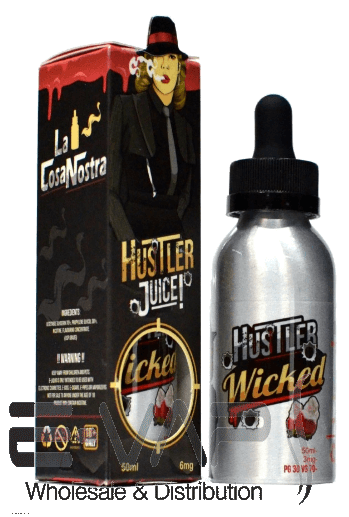 Wicked e-liquid by Hustler Juice