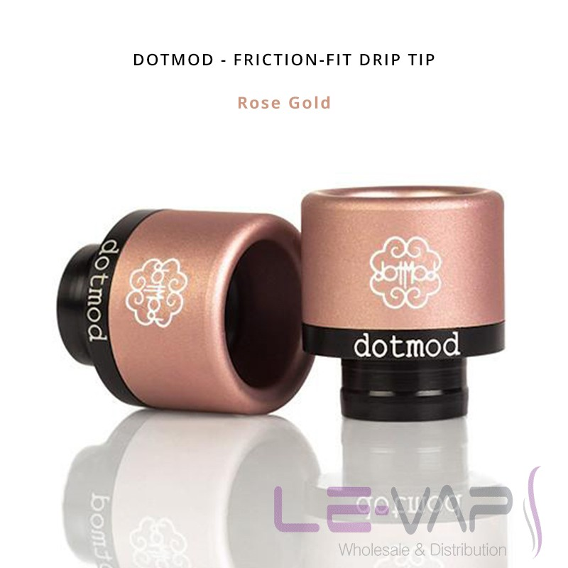 DOTMOD - Friction-Fit Drip Tip-Rose Gold