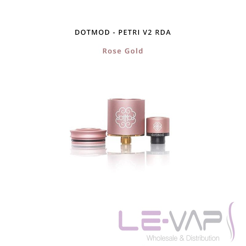 Petri V2 RDA-Rose Gold