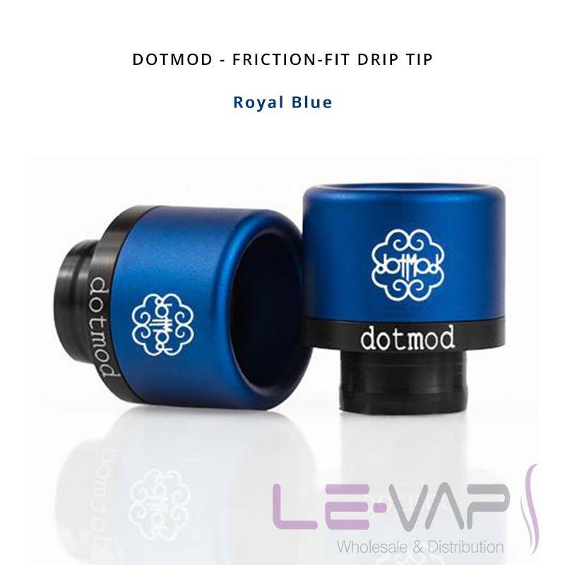 DOTMOD - Friction-Fit Drip Tip-Royal Blue