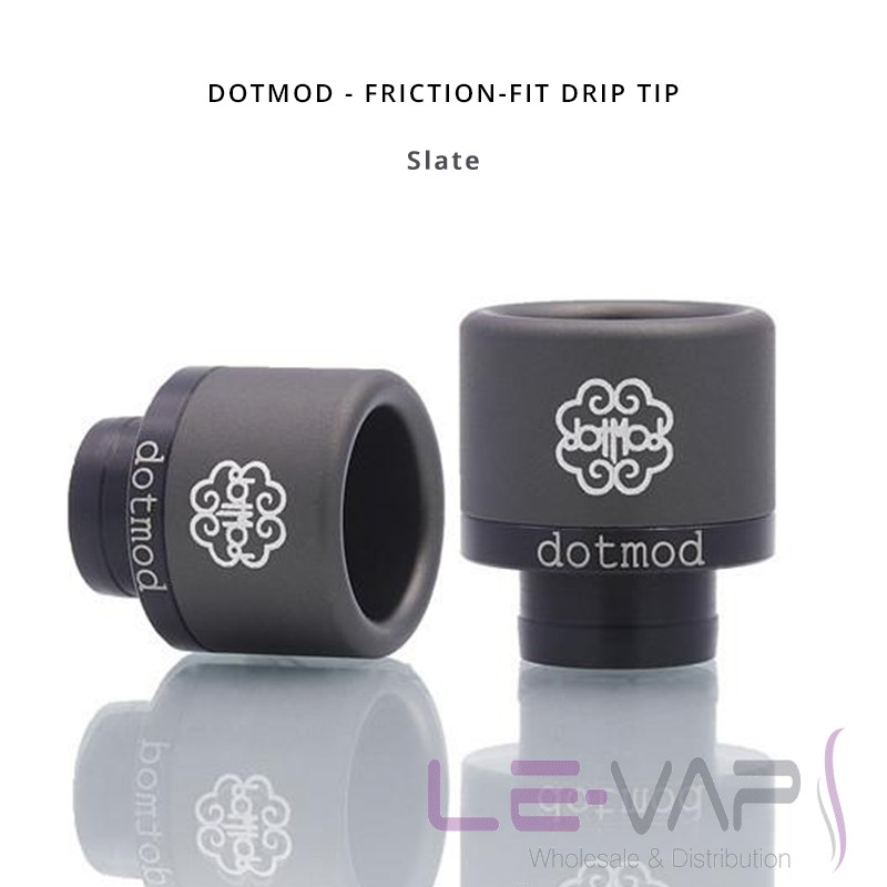 DOTMOD - Friction-Fit Drip Tip-Slate