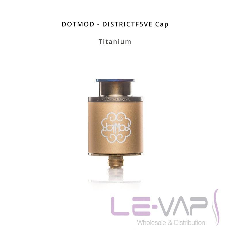 DISTRICTF5VE Cap-Titanium
