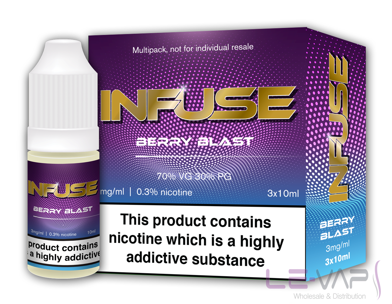 Berry Blast E LIQUID  BY VAPE INFUSE