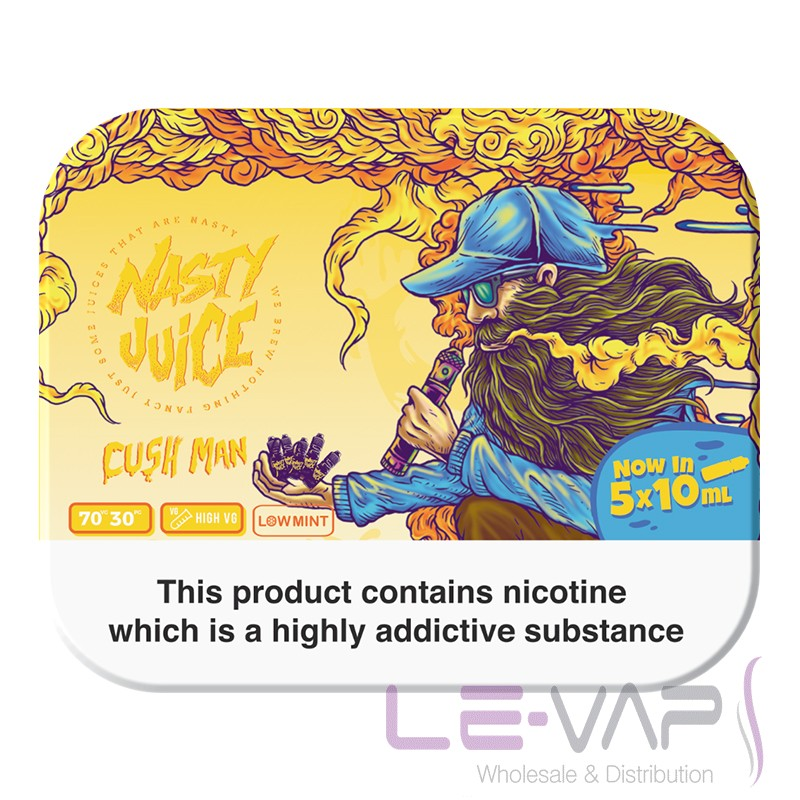 Cush Man e-liquid by Nasty Juice