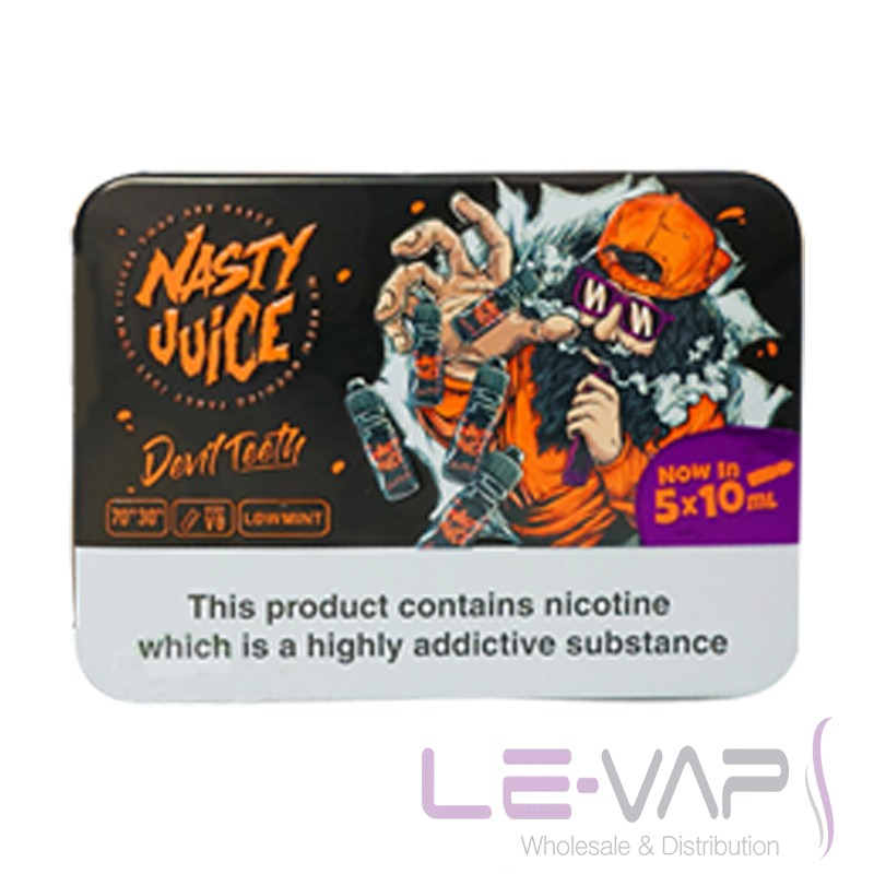 Devil Teeth e-liquid by Nasty Juice 5x10ml