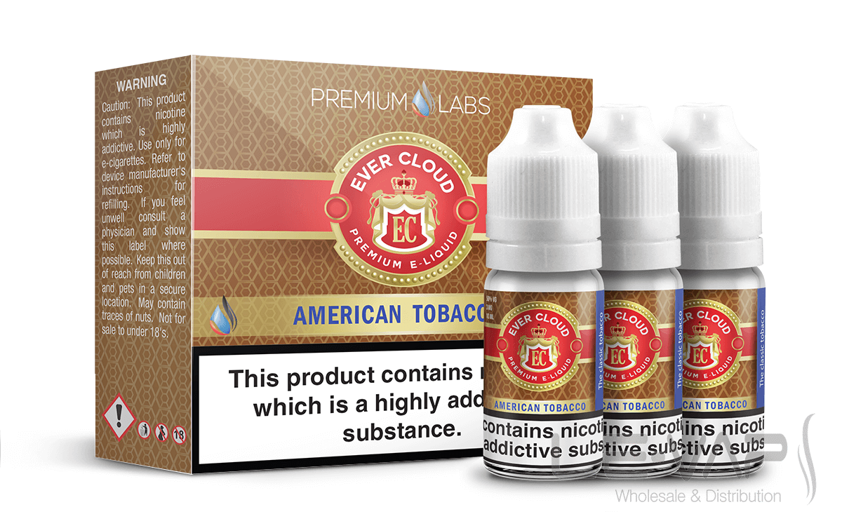 American Tobacco e-liquid from Ever Cloud eLiquids