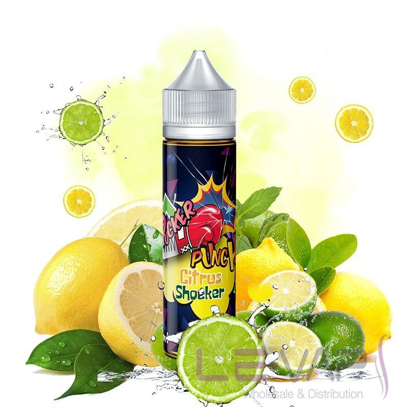 The Citrus Shocker  e-liquid by Pucker Punch  (Fat Panda)