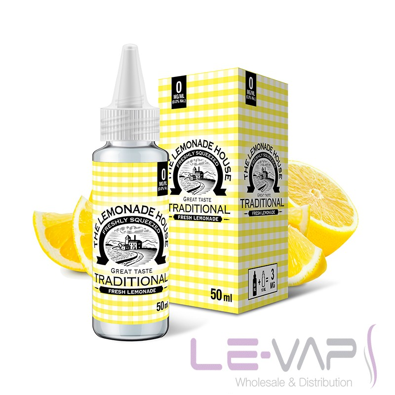 Traditional Lemonade e-liquid By The Lemonade House 50ml