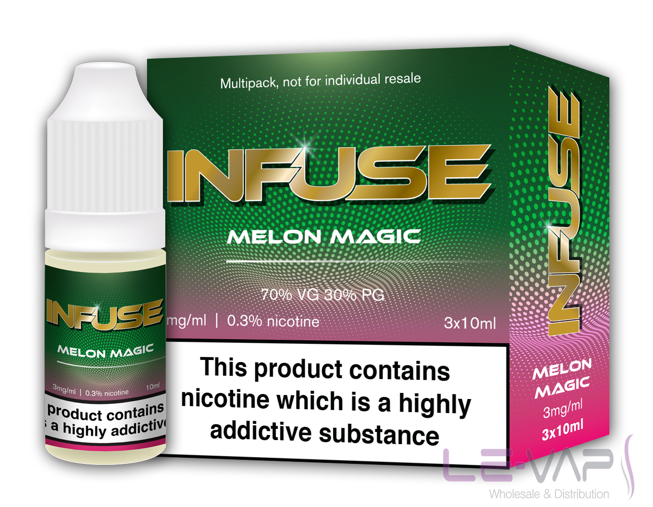 MELON MAGIC ELIQUID  BY VAPE INFUSE