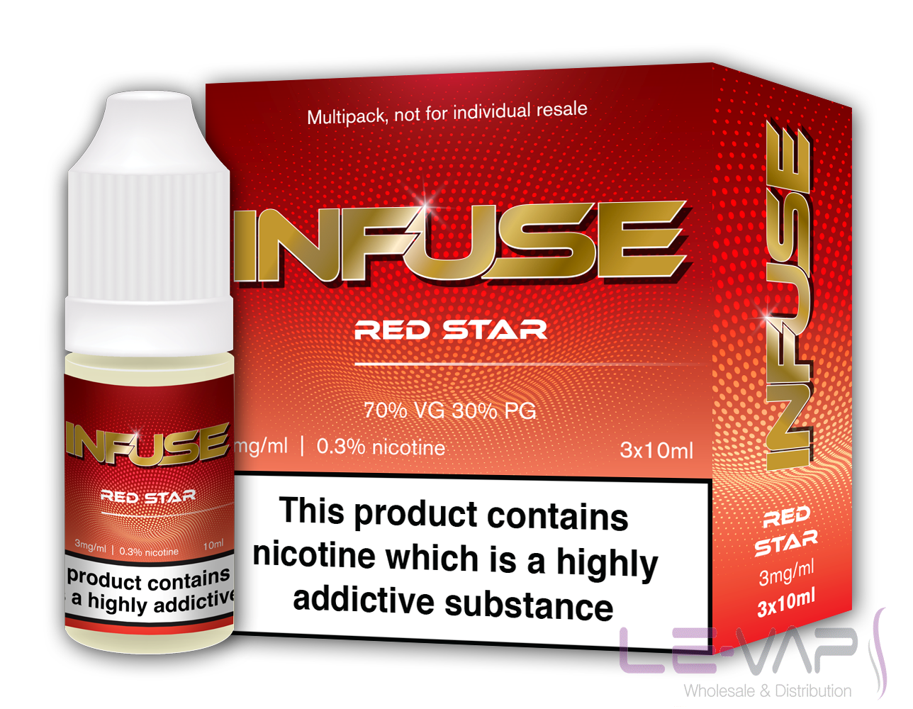 RED STAR E LIQUID BY VAPE INFUSE