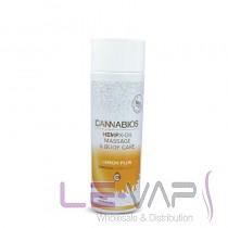 Cannabios Organic Massage Oil – Lemon Scented