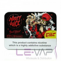 BAD BLOOD E-LIQUID BY NASTY JUICE 5X10ML