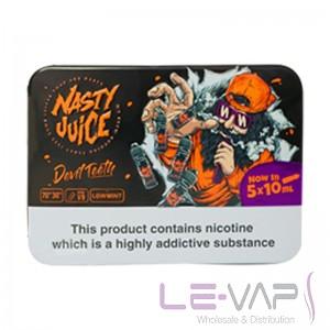 Devil Teeth e-liquid by Nasty Juice 5x10ml