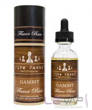 Gambit e-liquid by Five Pawns Flavor Base