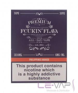 Philippines Mango 3x10ml E Liquid By Fcukin Flava